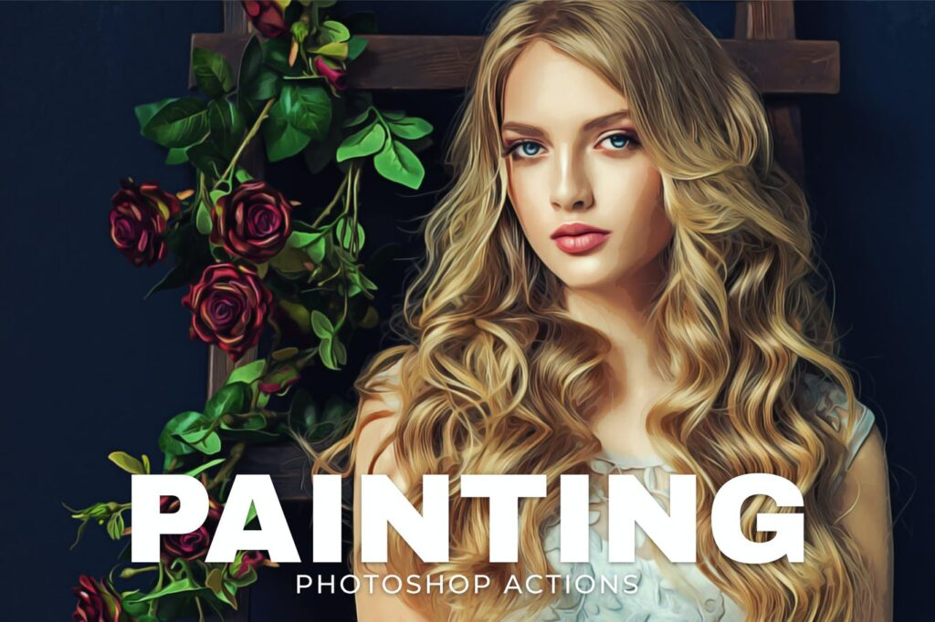 Painting Photoshop Actions Free Download